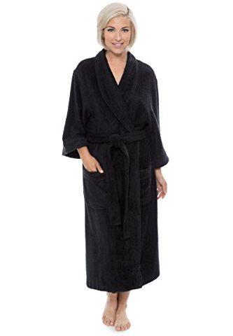 ee7e15bcb7ffc Women s Luxury Terry Cloth Bathrobe – Bamboo Viscose Robe by Texere  (Ecovaganza)