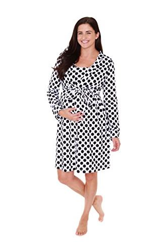 a19b5211da1df Baby Be Mine Maternity Labor Delivery Nursing Robe Hospital Bag Must Have